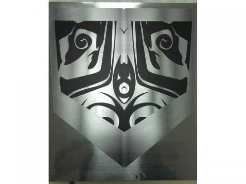 銀絲龍-UV直噴銀貼